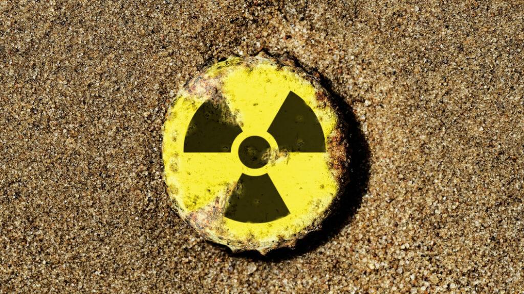 Радиоактивная кнопка с помощью CSS анимации